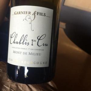 1. Garnier et Fils, Chablis 1er Cru, Mont de Milieu 2013, Medium Plus