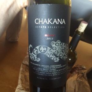 4. Chakana, Estate Selection Malbec 2012, Mendoza, Medium Plus