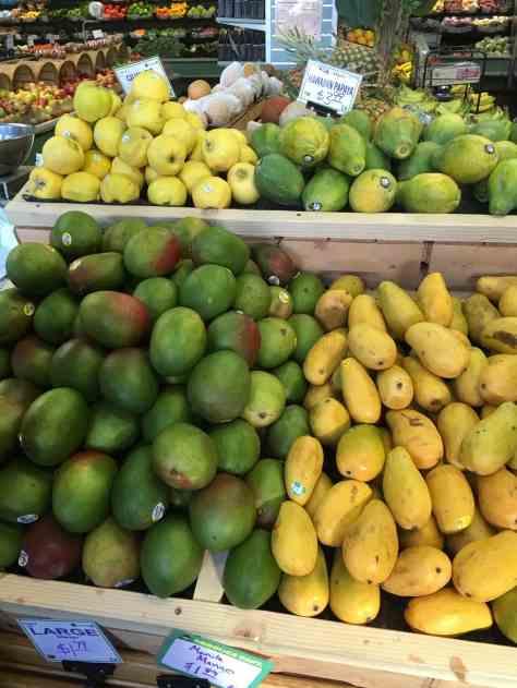 Quince, Papaya, Mango