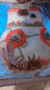 BB8 birthday cake