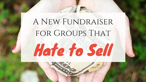 A New Fundraiserfor Groups That Hate to Sell