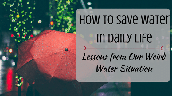 How To Save Water in Daily Life: Our Weird Water Situation