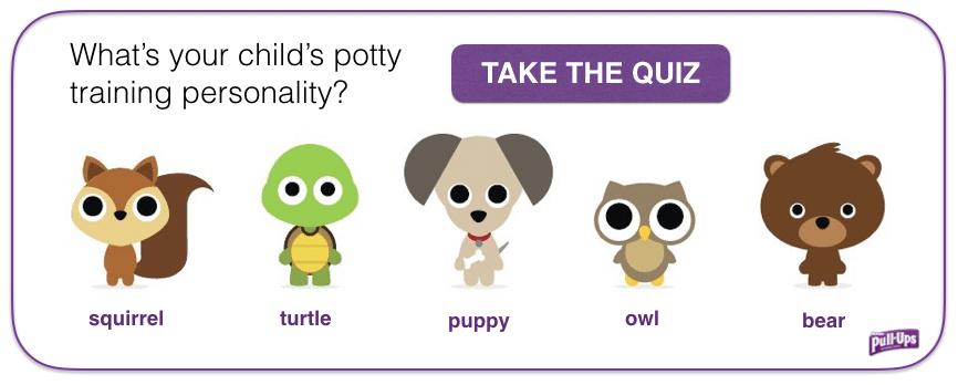 Pull Ups Potty Training Quiz