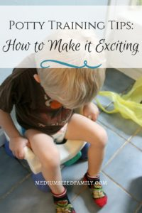 Potty Training Tips- How to Make it Exciting