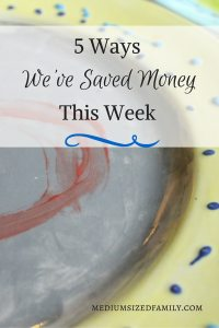The latest post in the 5 Ways We've Saved Money This Week series will give you great ideas for celebrating the end of the school year, even in the #yearofno.