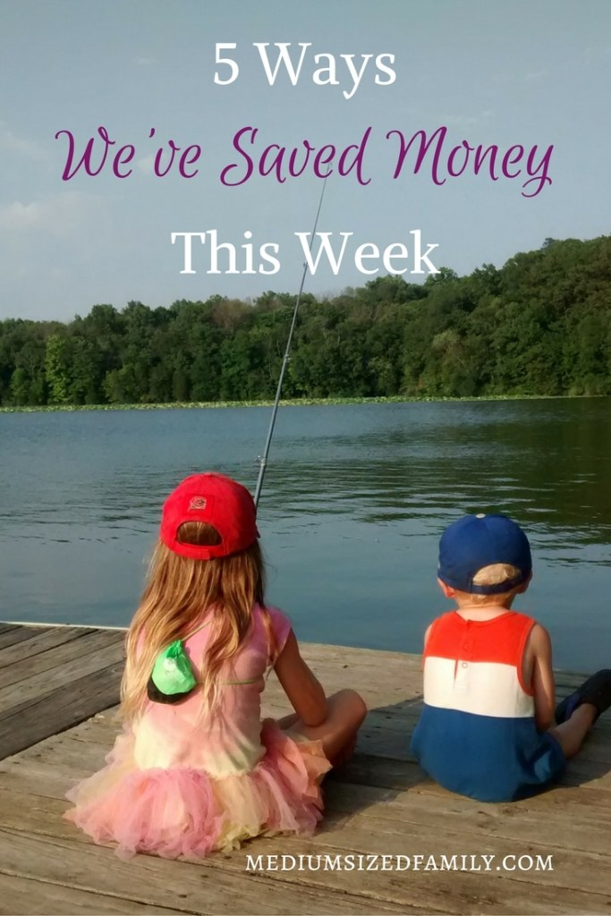5 Ways We've Saved Money This Week 44. Looking for money saving tips? Get hundreds of ideas from this series which follows the ways one family is working hard to pay off debt by saving in daily life.