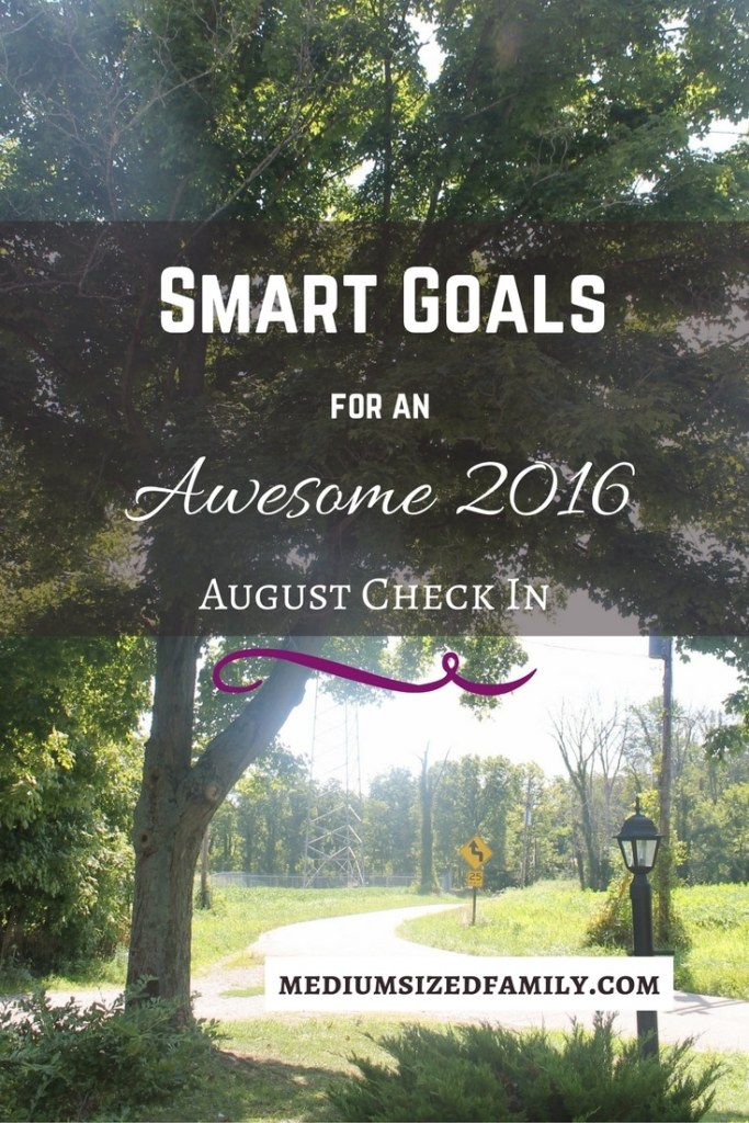 Smart Goals August Check In. Learn how we're reaching our big hairy audacious goal of paying off debt this year.