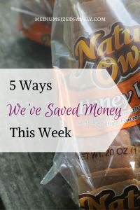 5 Ways We've Saved Money This Week 49: Find new ways to save money week after week in this series. This family is paying off debt by smart spending and saving.