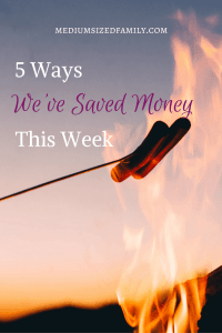 5 Ways We've Saved Money This Week 51. Like money saving tips? This family has recorded the ways they've saved money as they work to pay off debt. Check out all of the ways to save money here!