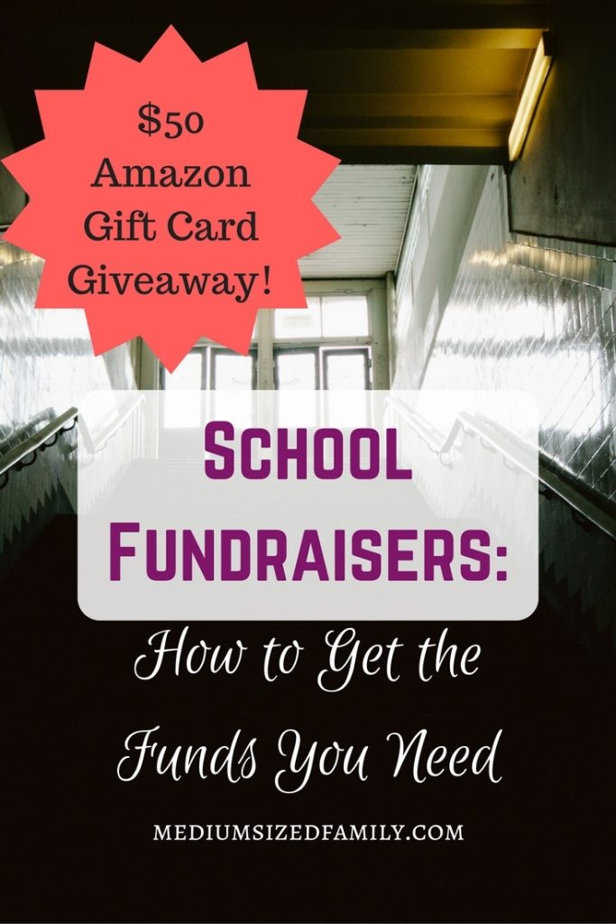 School fundraisers: How to get the funds you need. Plus a $50 Amazon gift card giveaway!