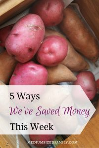 5 Ways We've Saved Money This Week 53. As this family digs out of debt, they are recording all of the ways they save money each week.
