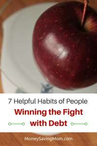 7 Habits of People Winning the Fight Against Debt