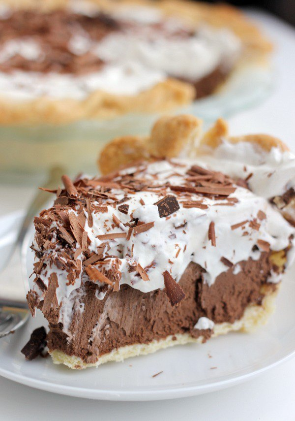 Chocolate French Silk Pie Recipe