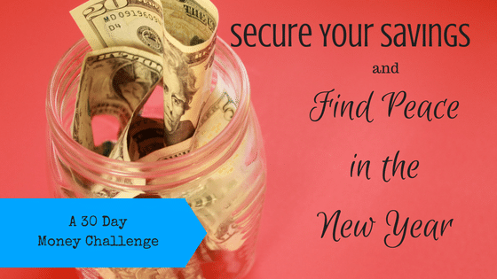 30 Day Money Challenge: Secure Your Savings and Find Peace in the New Year