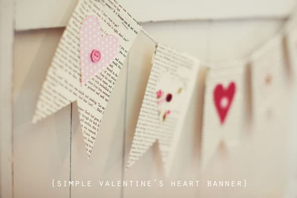 Simple and cheap Valentine's Day decor ideas