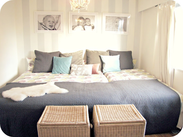 A large family bed for the large family home