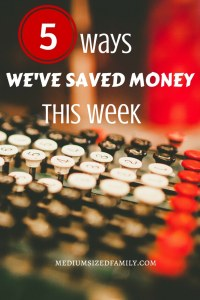 Ideas for saving money that don't require you to spend money first.