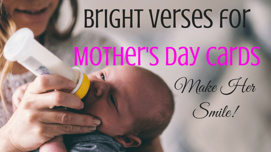 16 Bright Verses for Mothers Day Cards That Will Make Her Smile