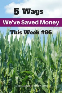 More money saving ideas from a family of 7 that's paying off thousands in credit card debt!