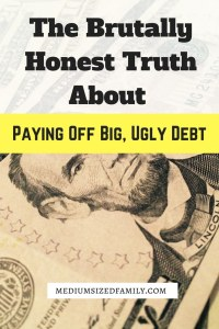 It takes forever to make progress when you're paying off debt. The brutal truth is that it's hard, but there's more to it than that.
