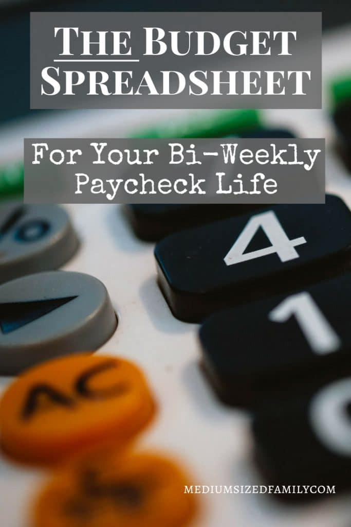 Free Bi-Weekly Budget Template (Watch Out For These 3 Mistakes That ...