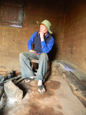 "Photo 3. Eric Mgohamwende from the Tanzania Albinism Society, who is responsible for the Kilolo district. He stated: ""It is important to talk about people with albinism and conduct awareness campaigns on our behalf, but we do not have funds to carry this out."" 