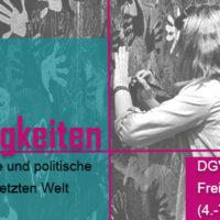 """Call for Workshops: DGV-Tagung 2017 zum Thema """"Zugehörigkeiten: Affektive, moralische und politische Praxen in einer vernetzten Welt"""" (Berlin)"""