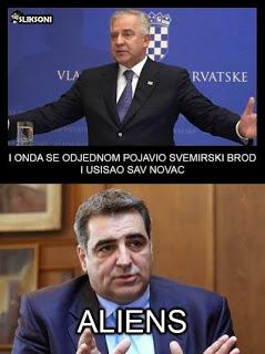 hrvatski vanzemaljci