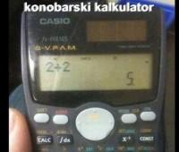 konobarski kalkulator