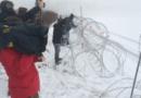 Aktivisti iz Hrvatske i Slovenije rezali žilet-žicu kod Trnovca