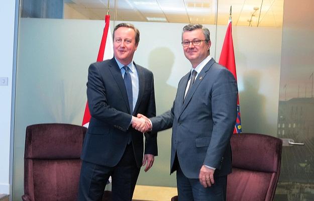 David Cameron - Tihomir Orešković