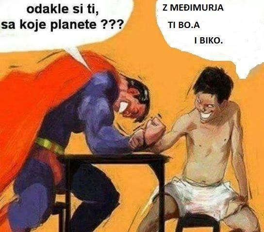supermen vs međimurec