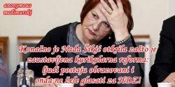 Konačno je Nada Šikić otkrila zašto je zaustavljena kurikularna reforma: ljudi postaju obrazovani i onda ne žele glasati za HDZ!