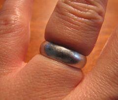 zaglavljen prsten