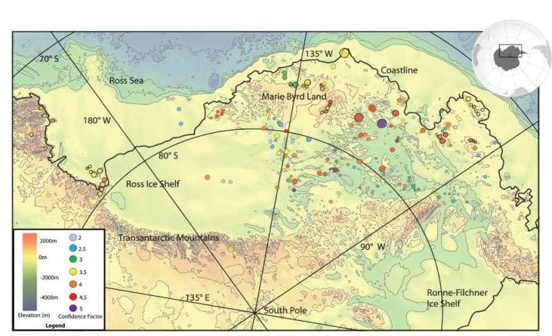 mapa s vulkanima