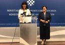 Ministrica Divjak i njezina pomoćnica Lidija Kralj | Foto: Dora Kršul
