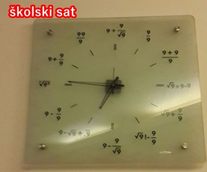 školski sat