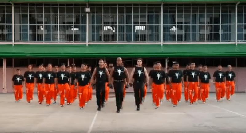 zatvorski flashmob na Filipinima