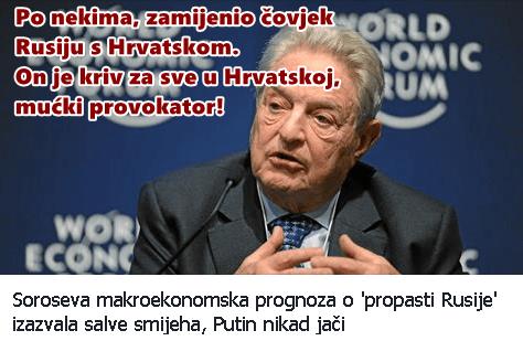 Soros uništio Hrvatsku:)