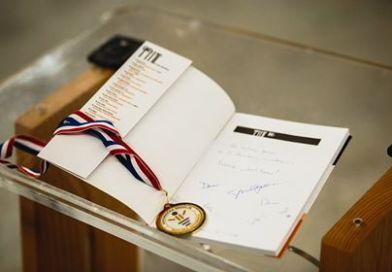 Govornička medalja na 2. školskoj govornici Ivoni Marciuš