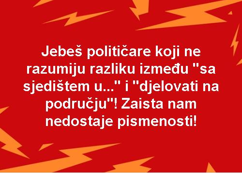Jebeš političare