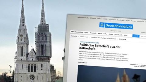 Politische Botschaft aus der Kathedrale