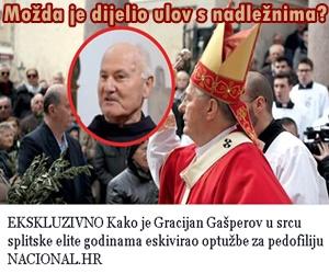Centar Splita oblijepljen tjeralicama za svećenikom pedofilom
