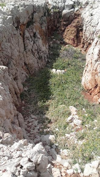 rupa ostala nakon kopanja boksita