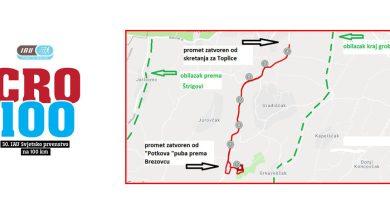 Obavijest općine Sveti Martin na Muri o zatvaranju ceste u subotu 8.rujna 2018