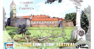 Peti STRIP FESTIVAL u Čakovcu