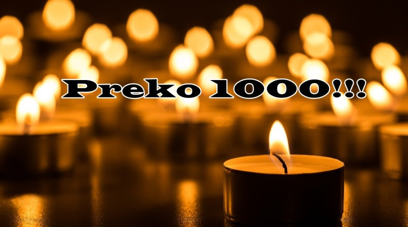 Preko 1000!