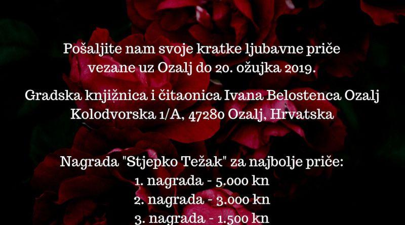"""6. Međunarodni natječaj za kratku ljubavnu priču """"Moje drago serce"""""""
