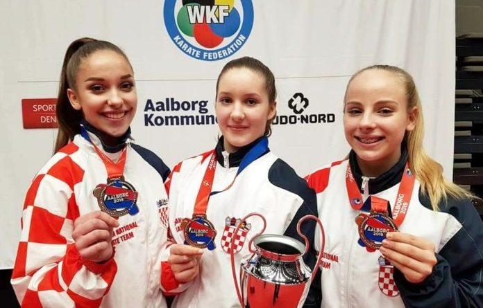 Kadetkinje Karate Centra Šenkovec brončane na Europskom prvenstvu u danskom Aalborgu
