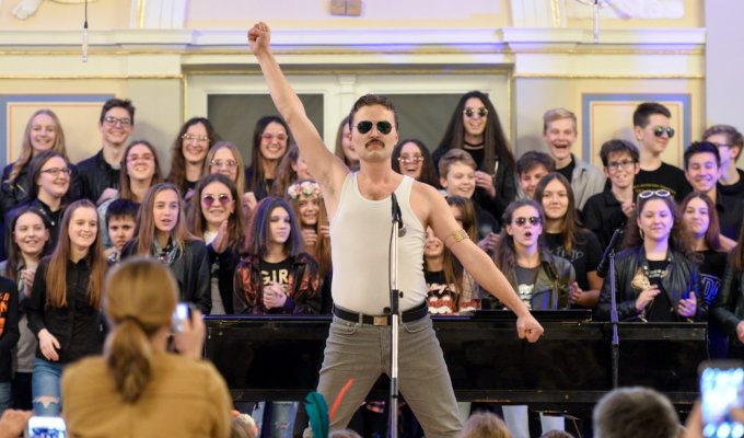 VIDEO: Freddy Mercury & Queen u Varaždinu!